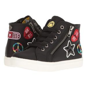 Steve Madden Patched High Top Tcode Sneaker Girl 3